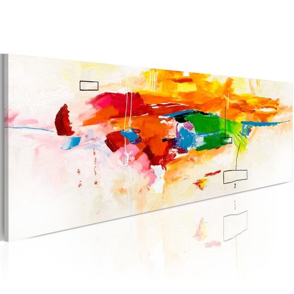 Obraz - Colors celebration (120x40 cm) A0-N2445