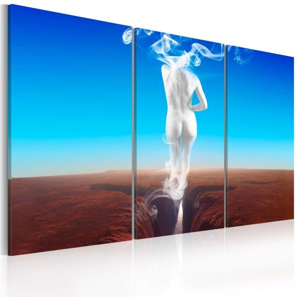 Obraz - Creation of woman - triptych (60x40 cm) A0-N2217