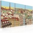 Obraz - Cukierkowy Paryż A0-N1776