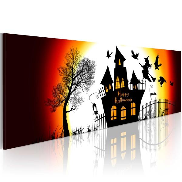 Obraz - Czarne Halloween (120x40 cm) A0-N2645-P