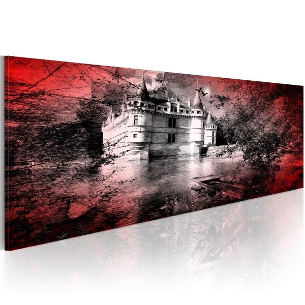 Obraz - Czarny dwór (120x40 cm) A0-N2647-P