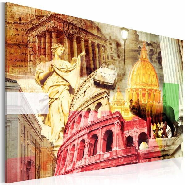 Obraz - Czarujący Rzym (60x40 cm) A0-N2767