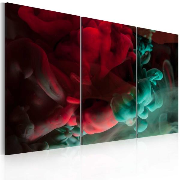 Obraz - Czerwień i aksamit (60x40 cm) A0-N2385