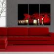 Obraz - Czerwona gitara A0-N1510