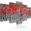 Obraz - Czerwone maki pośród zbóż A0-N1411