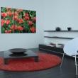 Obraz - Czerwone tulipany w rozkwicie A0-N1640
