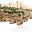 Obraz - Dachy Wiecznego Miasta A0-N1517