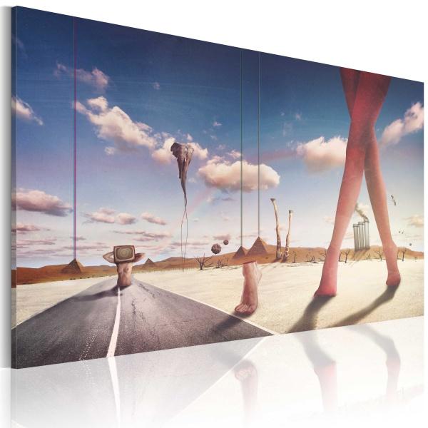 Obraz - Defragmentacja snów (60x40 cm) A0-N2545