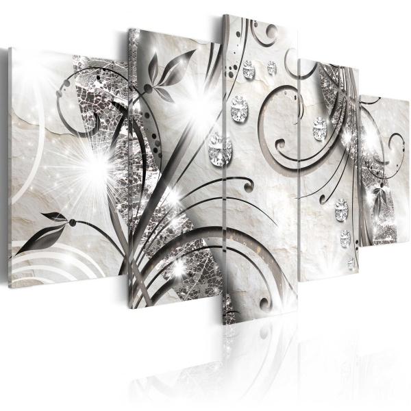 Obraz - Diamentowa gałązka (100x50 cm) A0-N3367