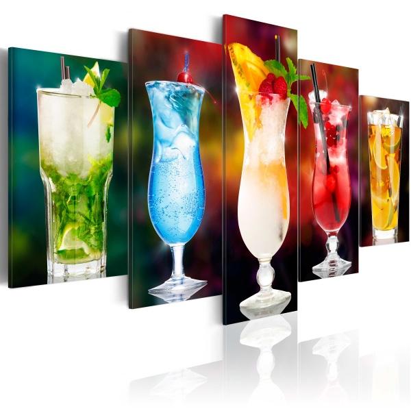 Obraz - Drink z parasolką (100x50 cm) A0-N3137