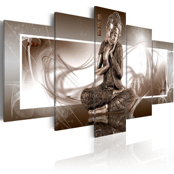 Obraz - Dumający Budda (100x50 cm) A0-N2573