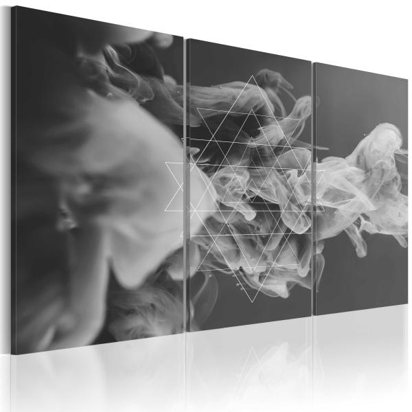 Obraz - Dym i symetria (60x40 cm) A0-N2373