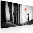 Obraz - Dziewczynka z balonikiem (Banksy) A0-N1787