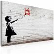 Obraz - Dziewczynka z telewizorem (Banksy) A0-N1818