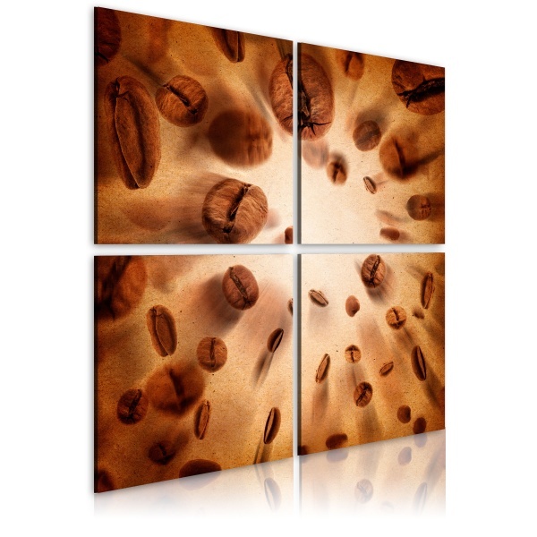 Obraz - Energetic coffee (40x40 cm) A0-N1975