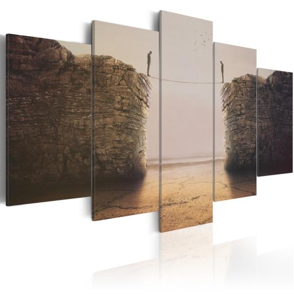 Obraz - Existential dilemmas (100x50 cm) A0-N2421