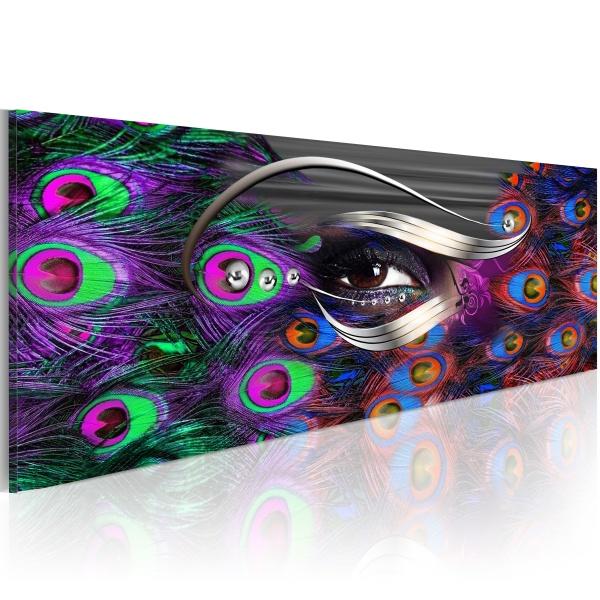 Obraz - Fałszywe pawie oko (120x40 cm) A0-N2929