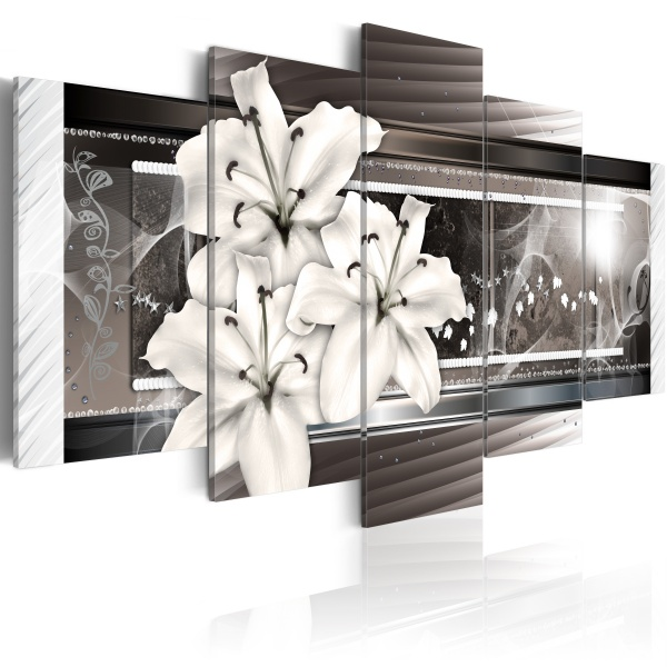 Obraz - Fantazyjne lilie (100x50 cm) A0-N2820
