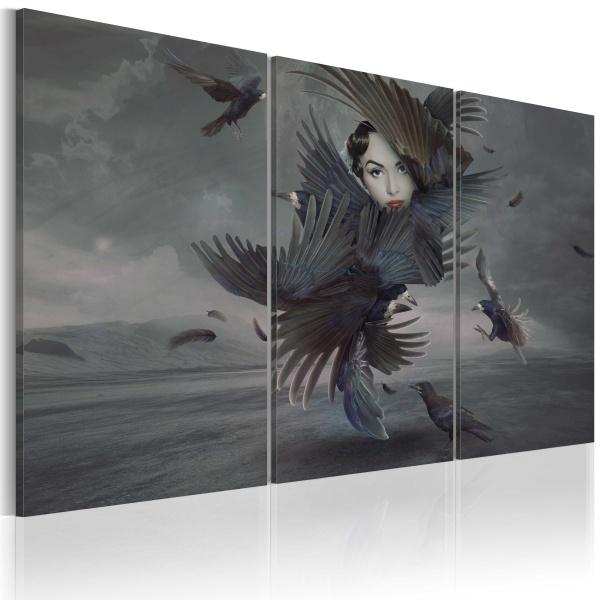 Obraz - Feather dress (60x40 cm) A0-N2341