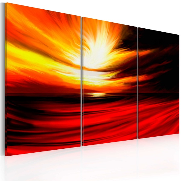 Obraz - Fire from the sky (60x40 cm) A0-N2569