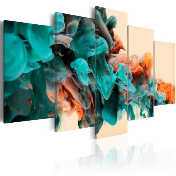 Obraz - Furia barw (100x50 cm) A0-N2353