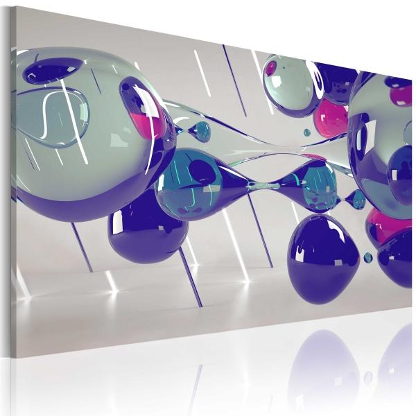 Obraz - Glass bubbles (60x40 cm) A0-N2348