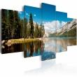 Obraz - Górskie jezioro wczesnym latem A0-N1558