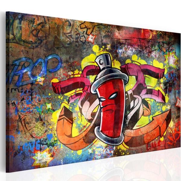 Obraz - Graffiti master (60x40 cm) A0-N2601