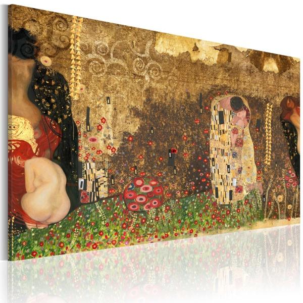 Obraz - Gustav Klimt - inspiracja (60x40 cm) A0-N2324