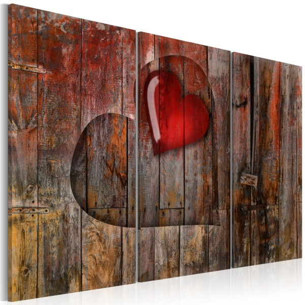 Obraz - Heart to heart (60x40 cm) A0-N2298