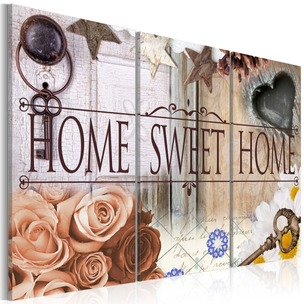 Obraz - Home in vintage style (60x40 cm) A0-N3004