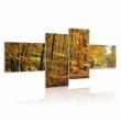 Obraz - Jesienna alejka pełna słońca A0-N1583