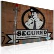 Obraz - Jesteśmy bezpieczni (Banksy) A0-N1790