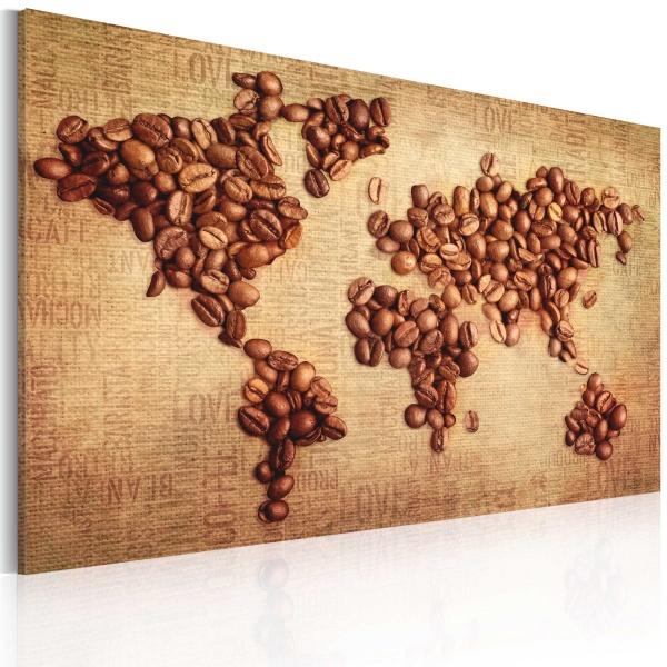 Obraz - Kawy świata (60x40 cm) A0-N2550