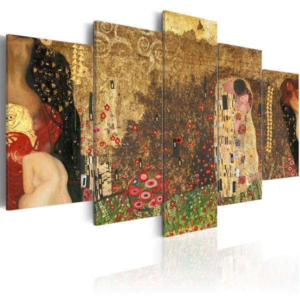 Obraz - Klimt's muses (100x50 cm) A0-N2307
