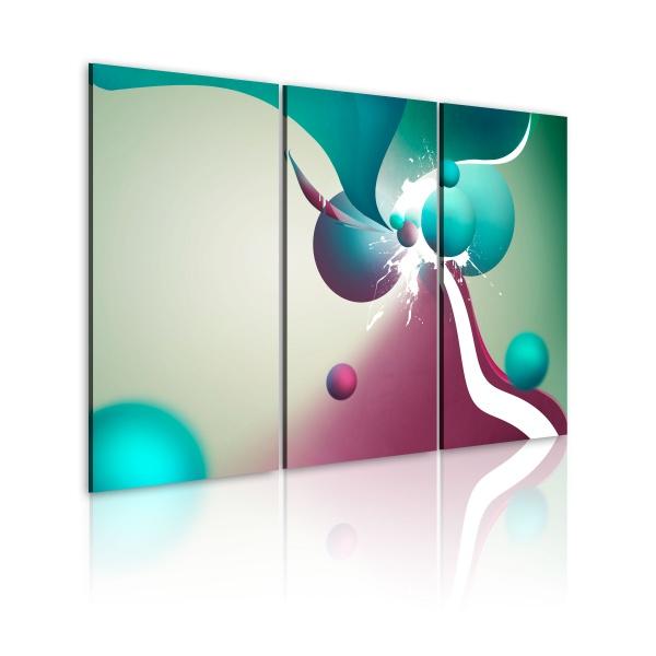 Obraz - Kolorowa eksplozja (60x40 cm) A0-N1840