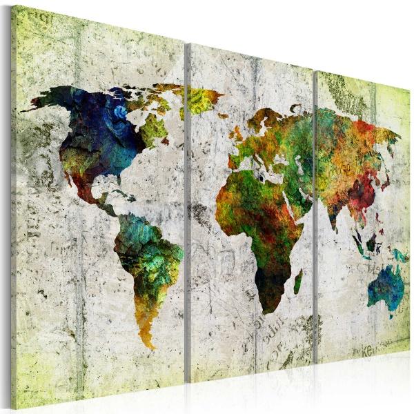 Obraz - Kolorowe podróże (60x40 cm) A0-N3817