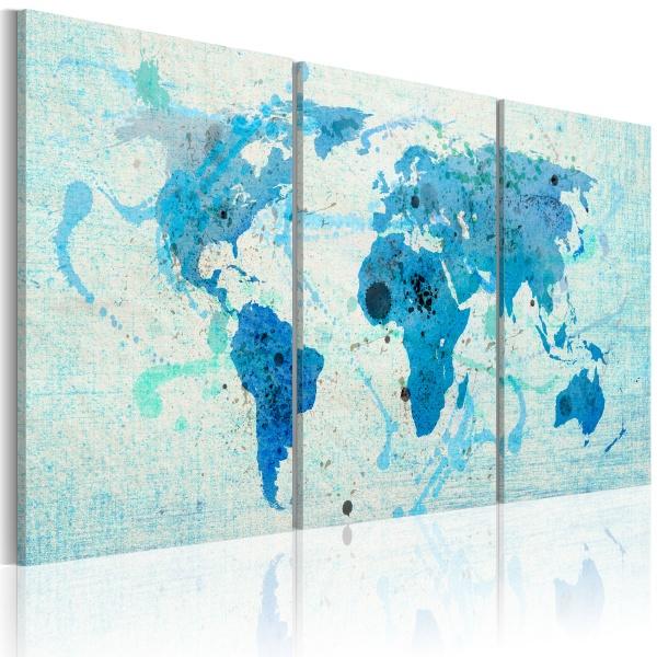 Obraz - Kontynenty jak oceany (60x30 cm) A0-N2024