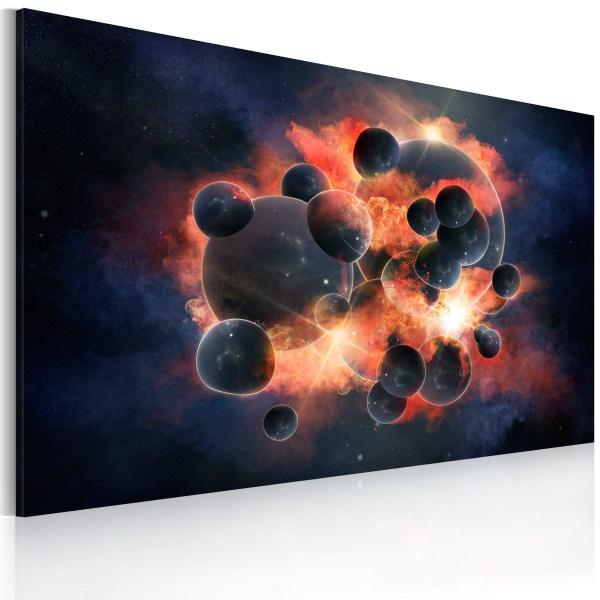 Obraz - Kosmiczna eksplozja (60x40 cm) A0-N2599