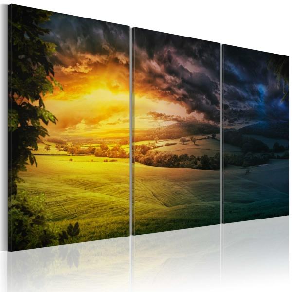 Obraz - Kraina wschodzącego słońca (60x40 cm) A0-N2589