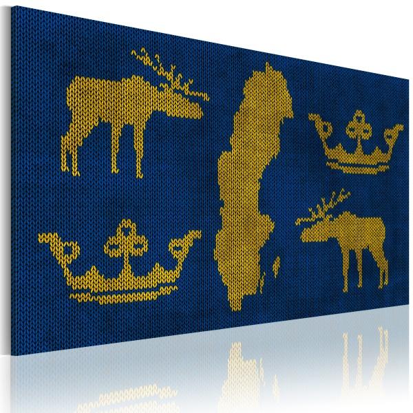 Obraz - Królestwo Szwecji (60x40 cm) A0-N2176