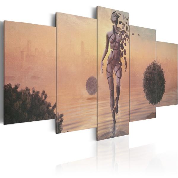 Obraz - Kruchość bytu (100x50 cm) A0-N2577