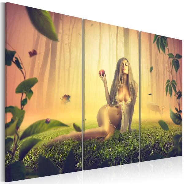 Obraz - Kuszenie w raju (60x40 cm) A0-N2786