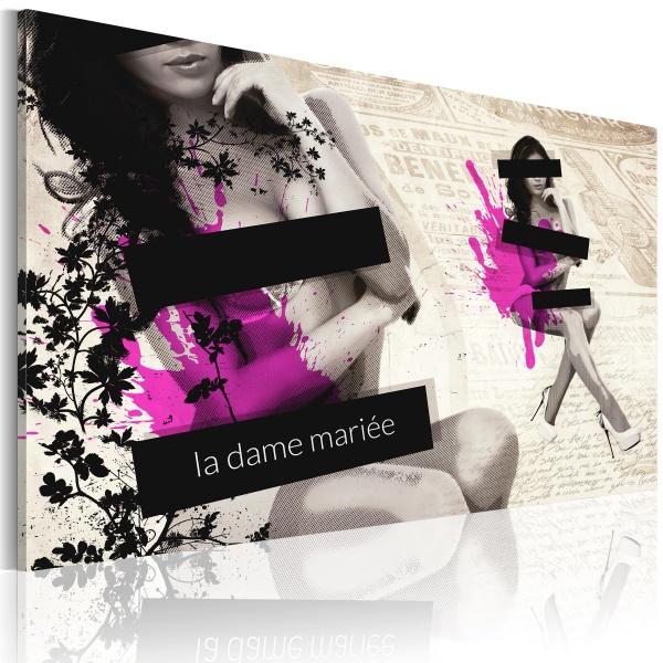 Obraz - La dame Mariée (60x40 cm) A0-N2866