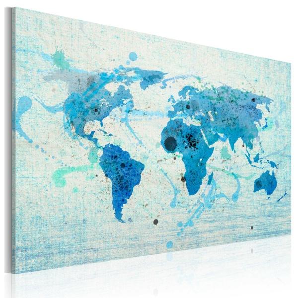 Obraz - Lądy i oceany (60x40 cm) A0-N2042