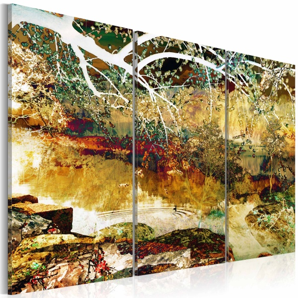 Obraz - Lake of illusions (60x40 cm) A0-N2259