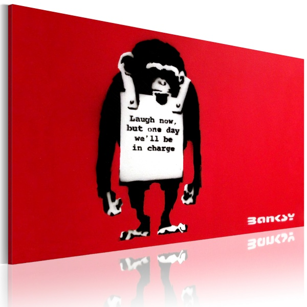 Obraz - Laugh Now (60x40 cm) A0-N2897
