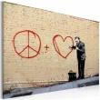 Obraz - Lekarz pacyfista (Banksy) A0-N1814