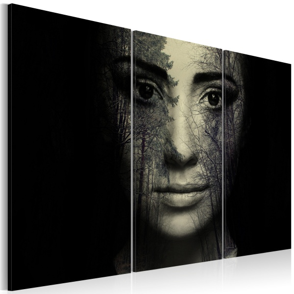 Obraz - Leśny kamuflaż (60x40 cm) A0-N2369