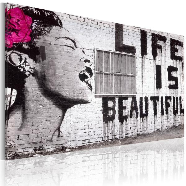 Obraz - Life is beautiful (60x40 cm) A0-N2481